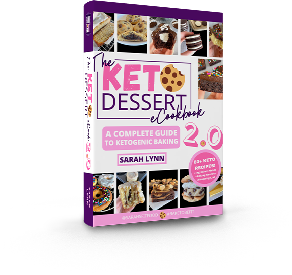 Cover of keto dessert ebook 2.0
