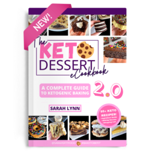 Keto Dessert eBook 2.0 cover page