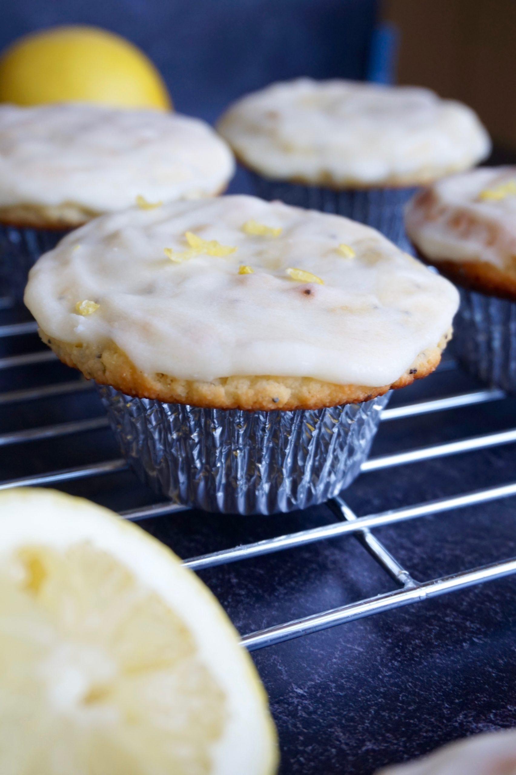 Keto lemon poppyseed muffins summer